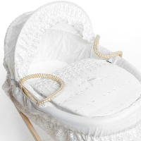 replacement moses basket bedding set