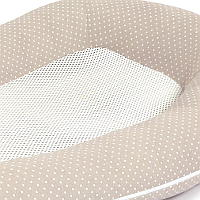 detail close up of purflo breathable baby nest